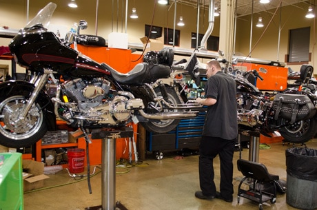 Getting it serviced isn't the same as changing the oil.